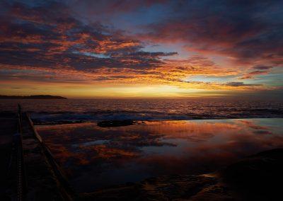 Dee Why Beach Sunrise Reflection
