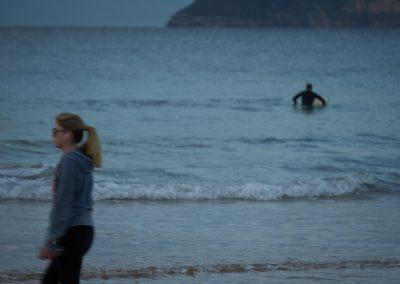 Long Reef Beach Surfer