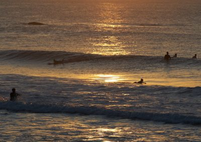 Queenscliff Beach Morning With Surfers Waiting